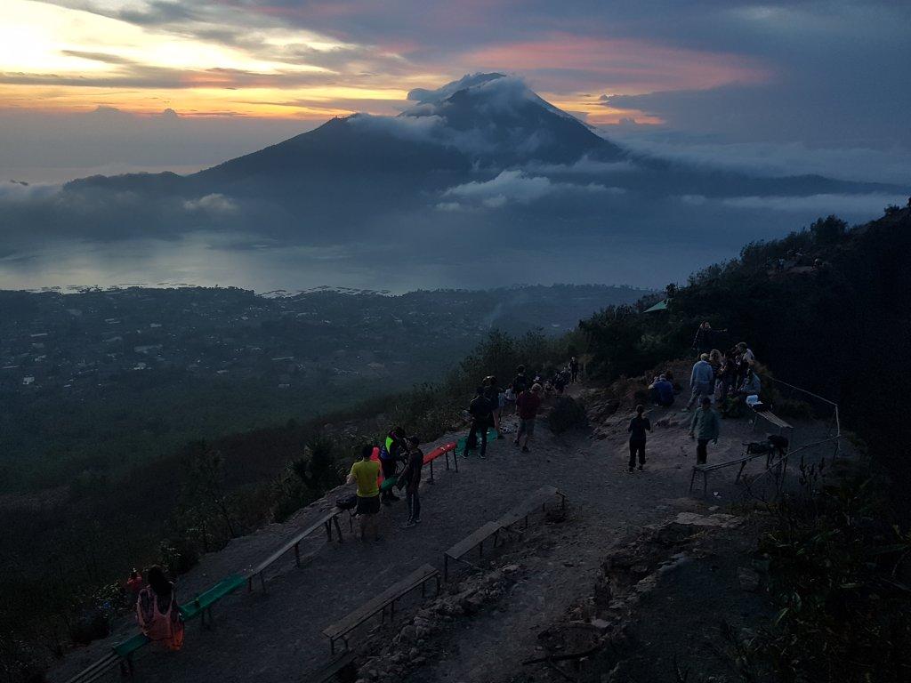 Trekking na wulkan Batur i wschód słońca