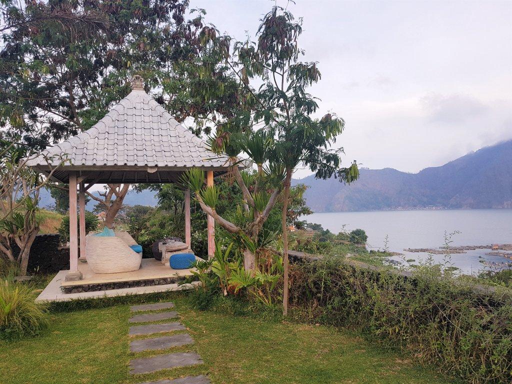 Hotel z widokiem na wulkan. Bali