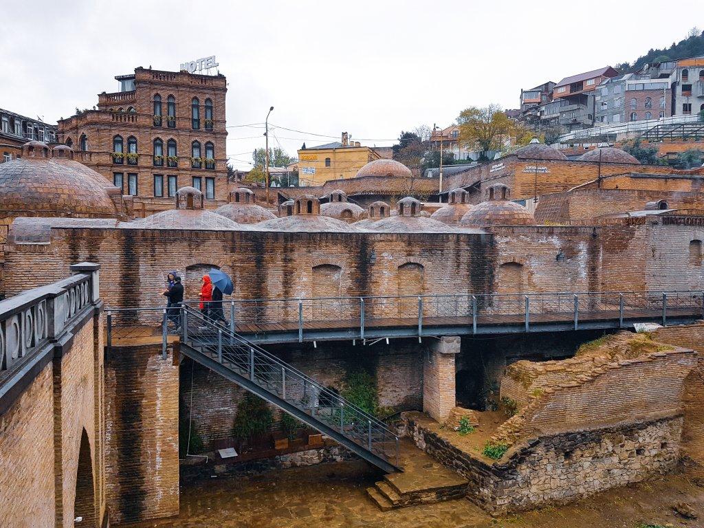 Łaźnie w Tbilisi. Gruzja.