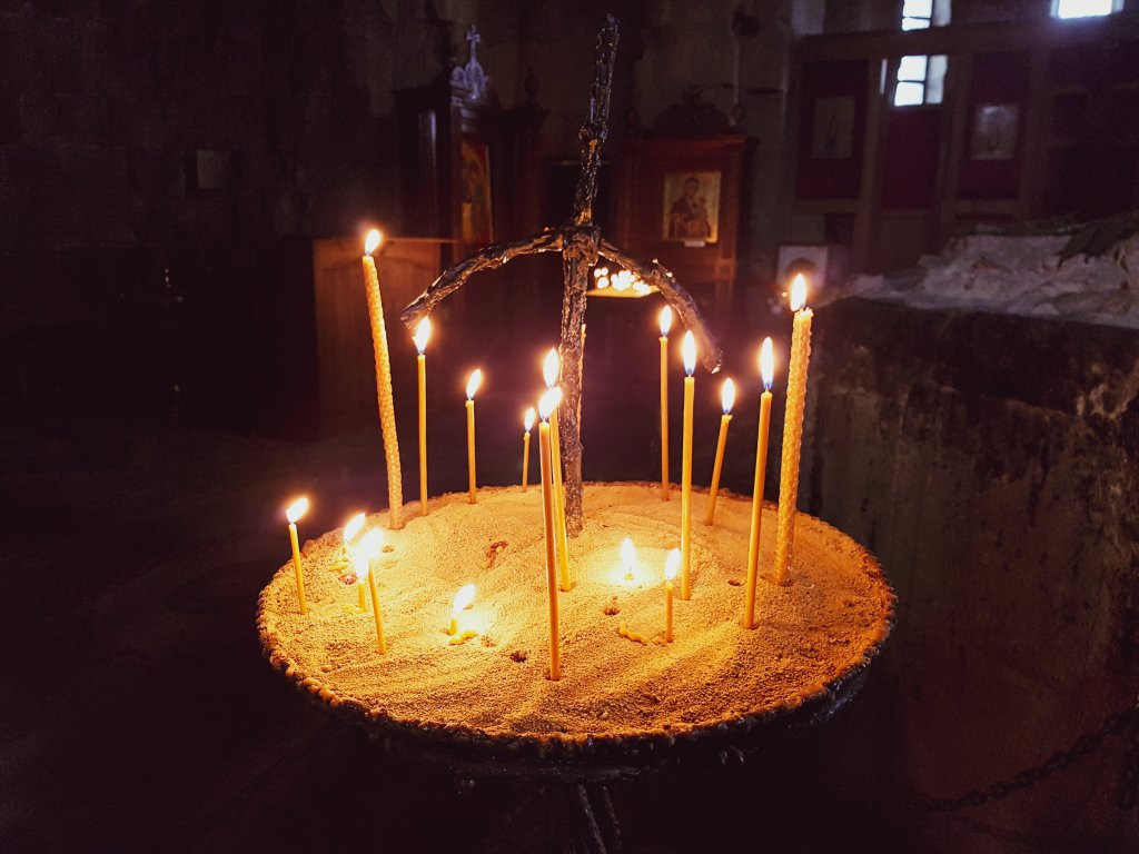 Klasztor Dżwari Krzyza w Tbilisi.