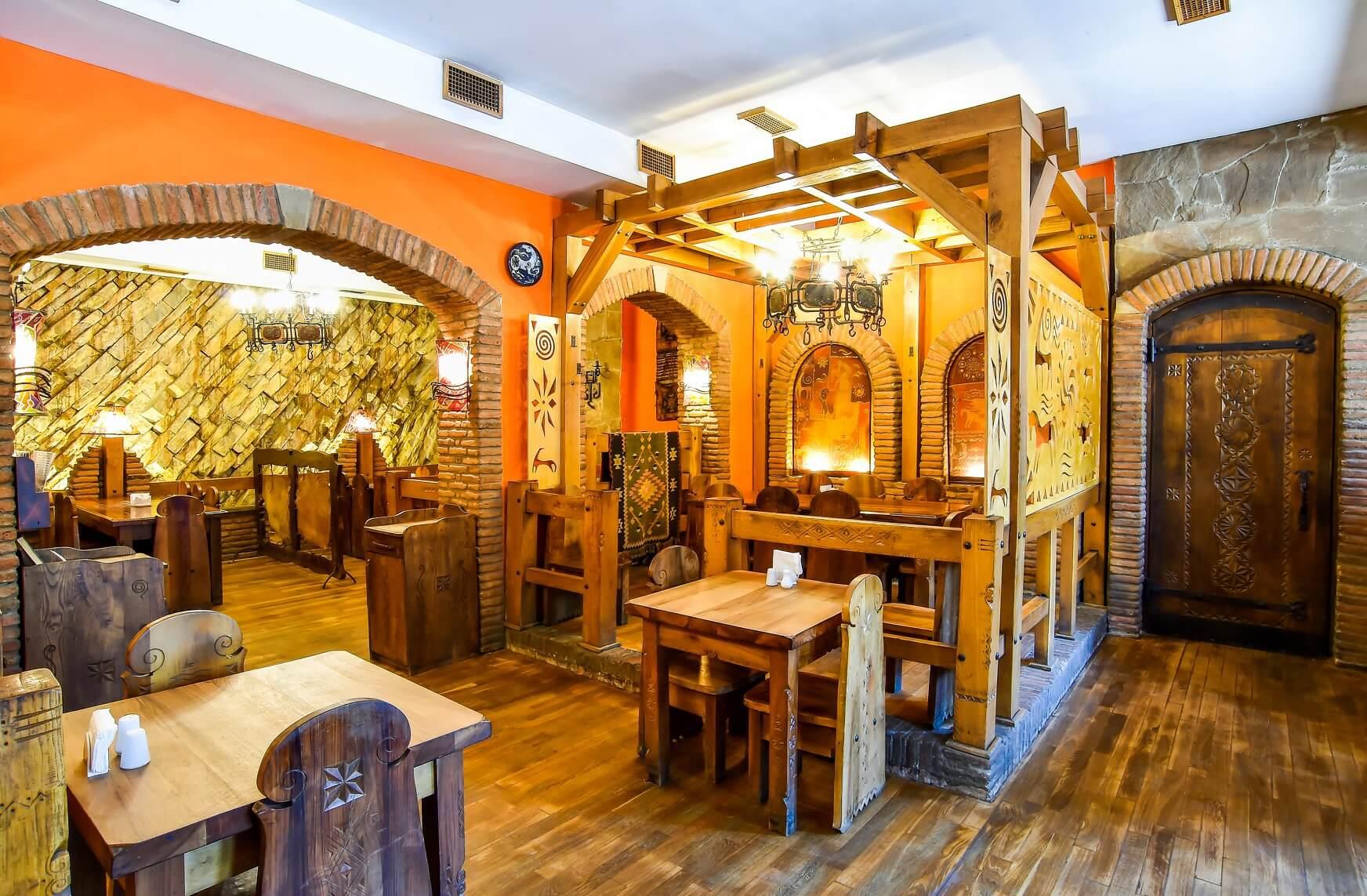 Restauracja Baraqa w Kutaisi.