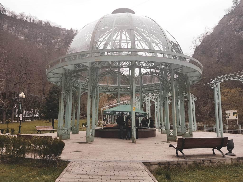 Borjomi Park w Gruzji.