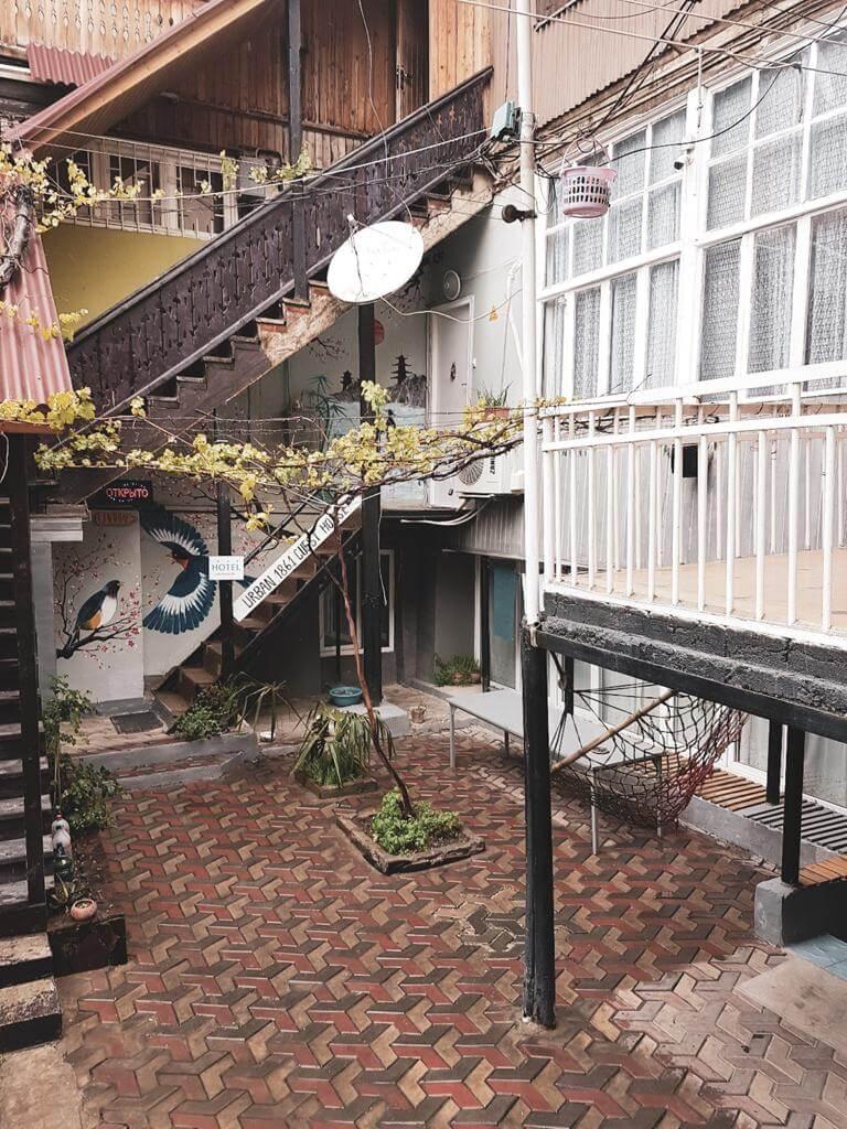 Podwórka Tbilisi.