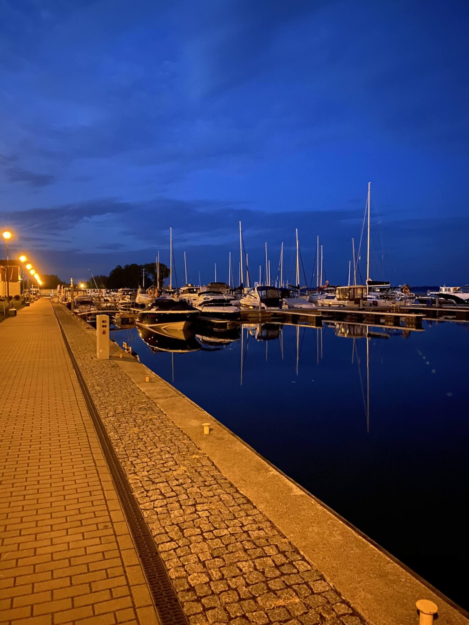 Port Gizycko. Mazury.