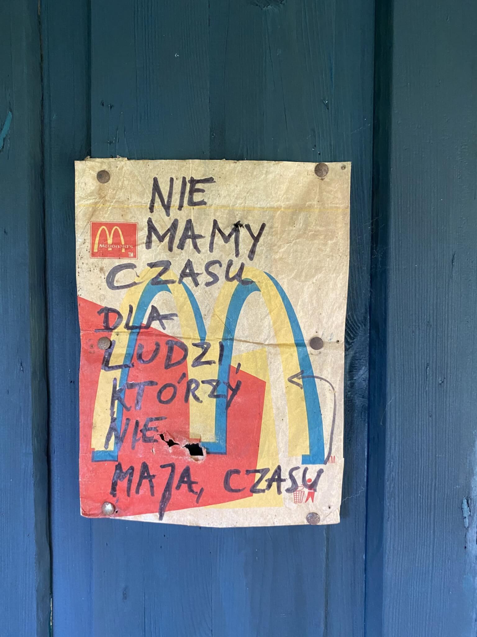 Restauracja – Oberża Pod Psem w Kadzidłowie