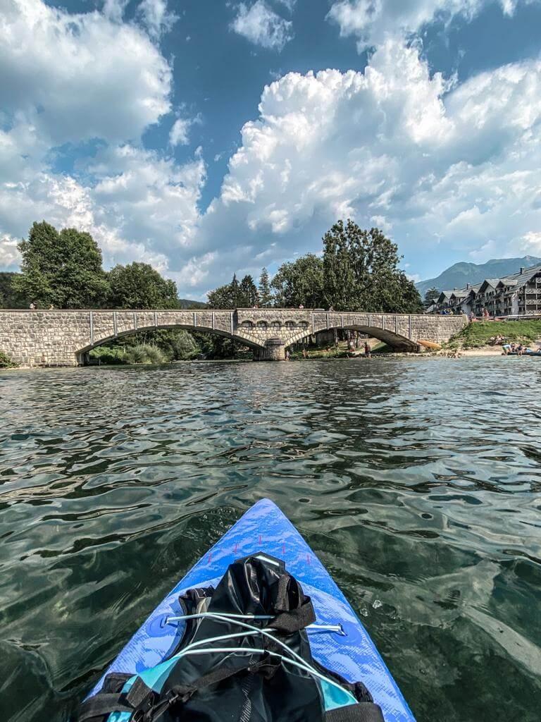 Jezioro Bohinj Slowenia
